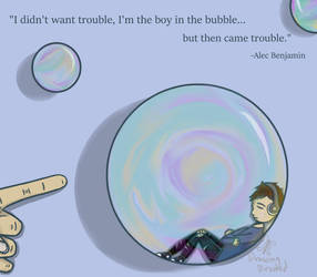 Boy in the Bubble by DrawingDirected