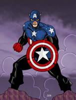 Captain America II by Blindman-CB