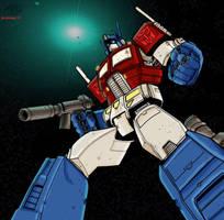 Optimus Prime by Blindman-CB