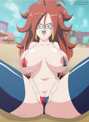 Android 21 by riffsandskulls