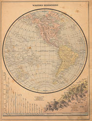 Peerless Atlas of the World - Western Hemisphere by RKlingbeil