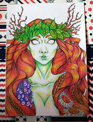 Yavanna portrait by Sothorill