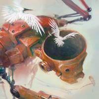 redrobotbirdloo by CrankBot