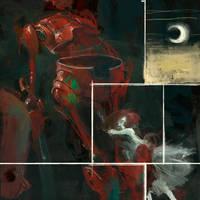 redrobotbluelights by CrankBot