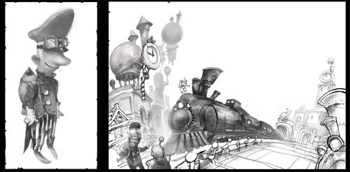 Spacetrain by CrankBot