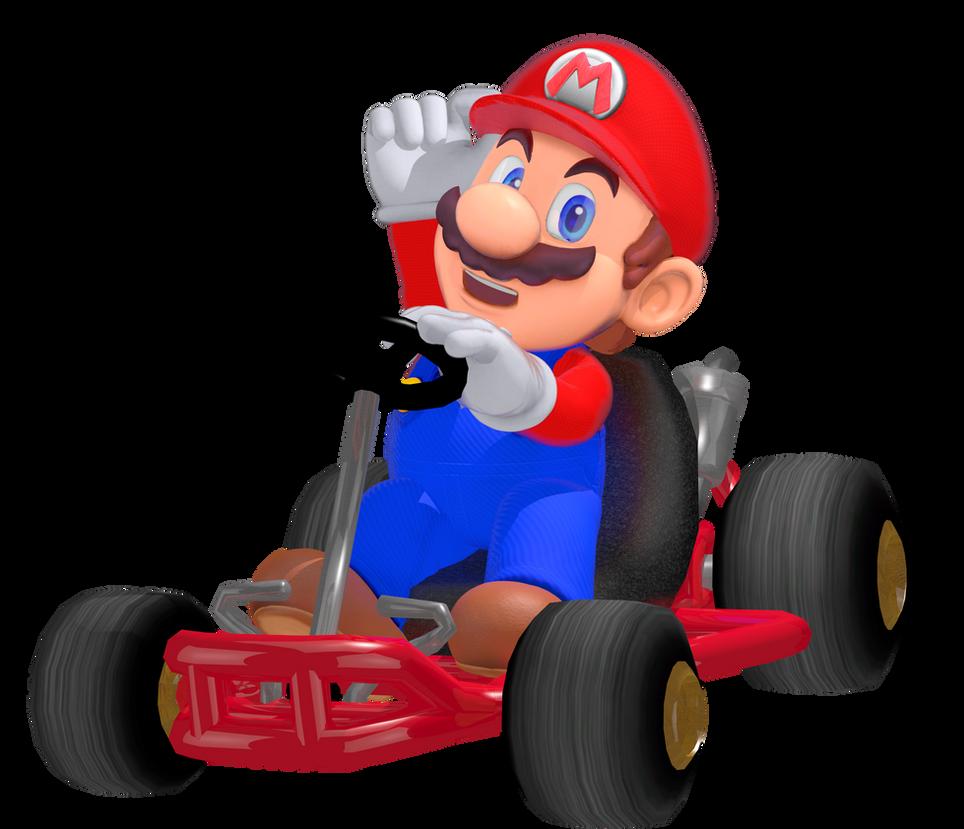 Mario Kart 8 Deluxe Render