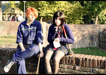 Charlie and Mary AGAIN by tumbleweedz