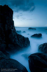 Blue light III by ChristopheCarlier