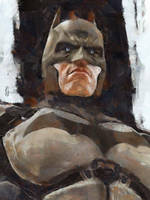 Batman by marcoturini