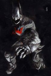 Batman Beyond Tribute by marcoturini