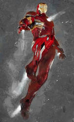 Iron Man Tribute by marcoturini