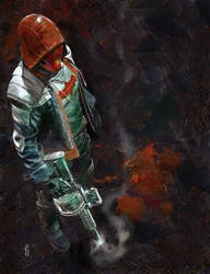 Red Hood by marcoturini