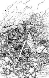 Dark Souls 1 Official Cover - Titan Publishing by marcoturini