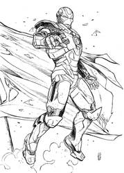Iron Man by marcoturini