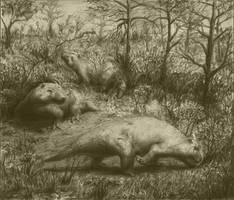 exaeretodon by Rolandi