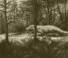Erythrosuchus by Rolandi