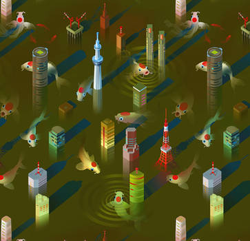 Radioactive Tokyo by Rolandi