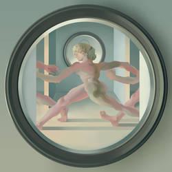 Janus bifrons (cyclic time) by Rolandi