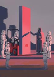2001 Space Wars Odyssey by Rolandi