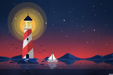 11 - Lighthouse by Xienne
