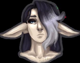 Mason sketchy portrait by toxictotod
