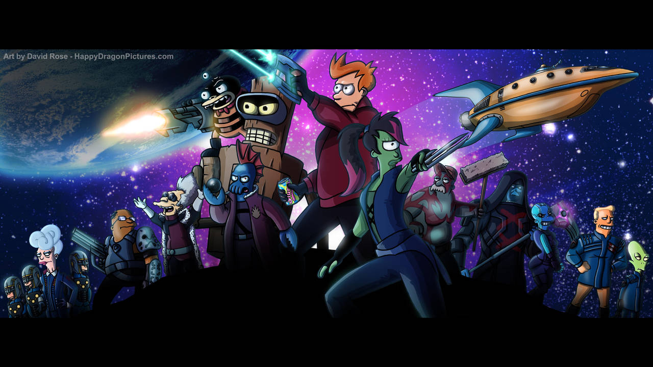 Guardians of the Future! by happydragonpictures