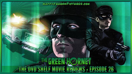 The Green Hornet by happydragonpictures