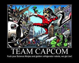 Team Capcom by wu1f3n