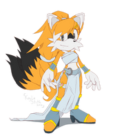 .:CE:.Huatay the Fox Redesign by SEGAmastergirl