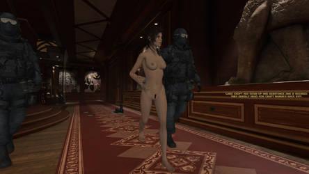 Lara Croft's Resistance by honkus2