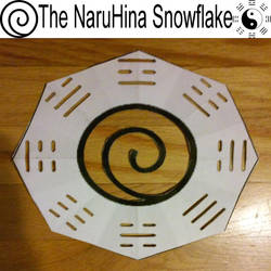 The NaruHina Snowflake by JBJB1029