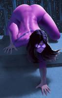SpiderWoman by stahlber