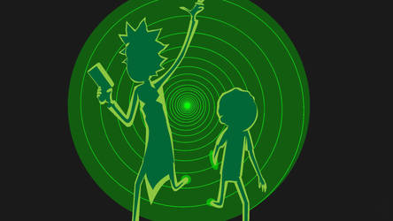 Rick and Morty by AlexanderAaron