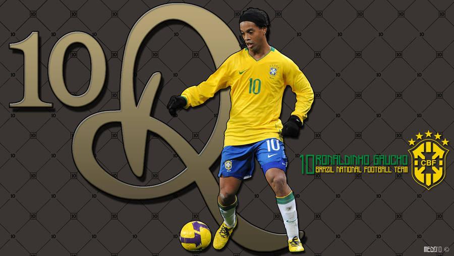 Ronaldinho Brazil Wallpaper 2 By Razer10 On Deviantart
