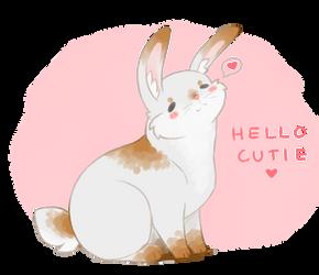 hello cutie uwu by TiddyLord