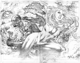 pin up X-men 02 utopia baixa by Ed-Benes