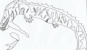 Hellish Sea Serpent by Nevert013