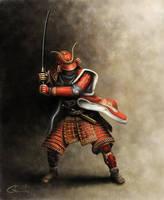 Samurai Artwork by vladgheneli