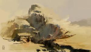 Desert Landscape01 by vladgheneli