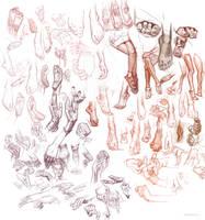 Sketches Feb15th'17 by vladgheneli