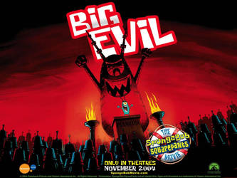 Big Evil Plankton Poster by shermcohen