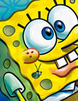 SpongeBob and Plankton Cover by shermcohen