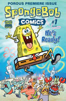 SpongeBob Comics Issue 1 Cover by shermcohen