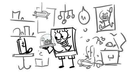 SpongeBob Movie 2 Storyboard by shermcohen