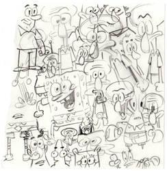 SpongeBob SquareDoodles by shermcohen