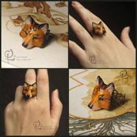 Fox ring  by olllga81