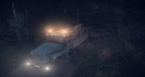 Midnight Road Train by Prince-Polaris