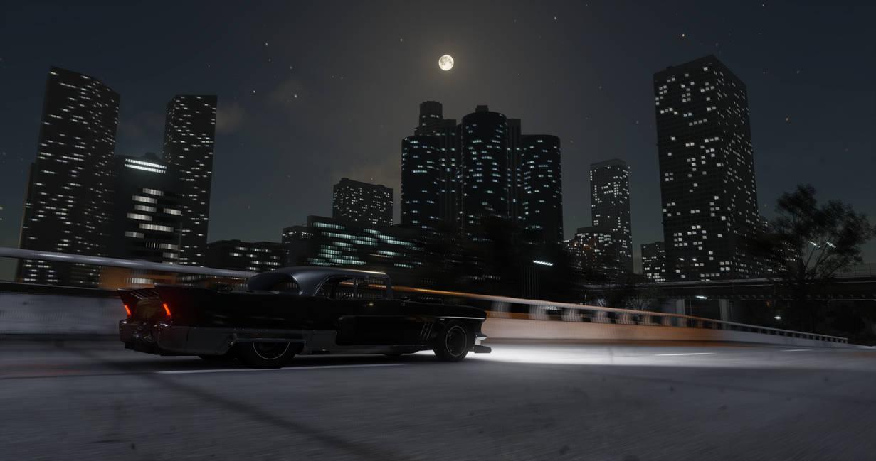 The city at Night by Prince-Polaris