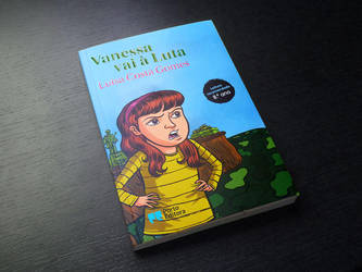 Vanessa Vai a Luta by AndreIllustrates