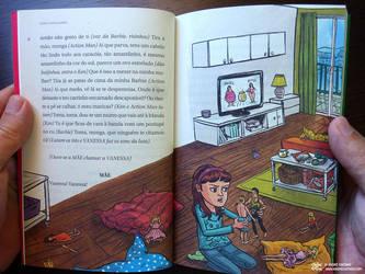 Illustration for Vanessa vai a Luta by AndreIllustrates